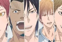 RAKUZAN / The school that has been playing in every Winter Cup ever since its founding tournament. Its championships are unmatched. The oldest and strongest king, emperor of creation, Rakuzan High School!