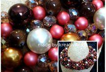 Coliere statement handmade / #necklace #statement #handmade #fashion