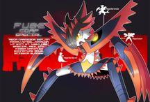 Pokemon fusions/fakemon