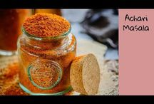 Masala powders, pickles, jams and preserves
