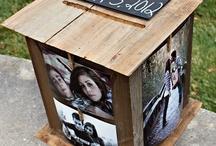 Wedding: card box / by Kate Cardinali