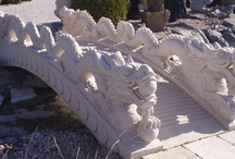 Stone Landscaping Decor / Natural stone accessories for the garden and landscape.