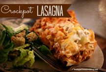 Slow cooker lasagne / Easy Lasagne recipes
