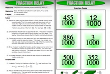 My Fraction Games / We have great fraction games listed below that you can buy individually on TPT or you can get 8 free on my website. http://www.mathfilefoldergames.com/fraction-games/