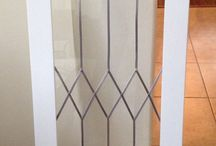 faux leaded glass