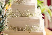 Wedding cake carré - Mariage