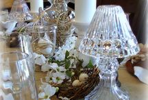 Easter & Spring Tablescapes / Easter & SpringTable Settings