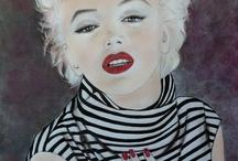 Marilyn Monroe art / Cookie Jar