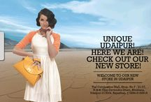 A new store, just for you! / Hello Udaipur!  Here we are, newly launched in your unique and wonderful city! With tons of runway hot accessories to offer in sassy, durable materials we invite you to get in on your style fix! So come on down for a fab time. Its fashion at its best!