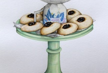 Food Cookies / by Sandra Patterson