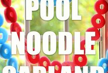 Pool Party / Great party ideas to help you throw a fun, colorful, and sweet Pool party for Summer birthdays. Featuring decorations, party ideas, dessert tables, party favors , free printables, and more.