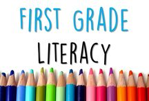 """First Grade Literacy / """"Anything to make literacy fun and resourceful for first grade""""                                                                       RULE: Pin at least 2 free ideas or resources for every paid item. (pictures of the activities in action) Please don't flood the board with your pins.   (If you would like to collaborate, please email me at mschloesclass@gmail.com.)"""