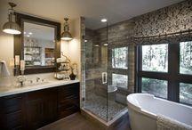 Lake Cottage Master Bedroom & Bath