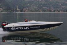 Albatro Boat 6.90 / Albatro 6.90 is a sports version witch can give incredible emotions darting over the water. He is powered by a Mercury 280 HP. It can reach a high speed in a short time