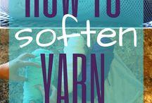 Soften yarn