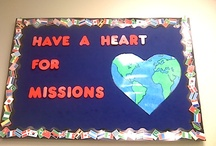 Sunday School Missions Board / by Cassandra Eckerle