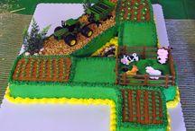 Number Four Cake Designs