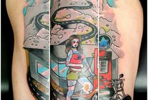 Tattoos by Tereza Pet / mix of everything