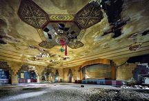 \ MÉMOIRE : RUINES / Recherche iconographie autour de mon thème de mémoire : La ruine. Mémoire autour de la conservation du patrimoine et de son utilisation