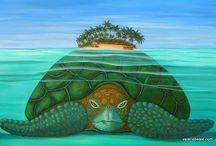 Polynesian Islands / Polynesian Paintings