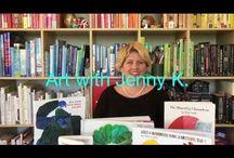 Art with Jenny K. Videos