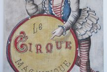 Art - A Three-ring Circus