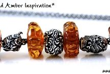 Trollbeads Carved Ambers