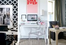 Home Office Inspiration / As we spend most of our day working, it is so important that your home office is as inspirational as possible to help you get the most out of your work day.