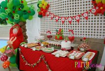 Little Red riding hood b-day party