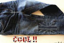 Réparation de jean