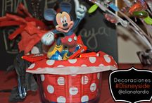 Cumpleaños Disney de Mickey Mouse - My #Disneyside Celebration  / We had a great time at our #Disneyside celebration party. Take a look at this. - Nos divertimos muchísimo usando nuestro lado Disney para sacarle provecho a la imaginación. Mira esto.