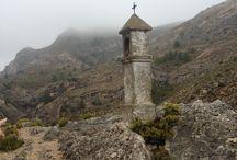 Maestrazgo (Teruel) / Tablero de imágenes del Maestrazgo turolense, de origen templario. Lugar misterioso y auténtico.