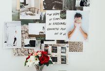 DESIGN - MOOD & INSPO BOARDS / mood and inspiration boards