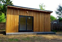 Garden rooms with seperate shed/store / Inspiration if you are looking for a garden building with two uses