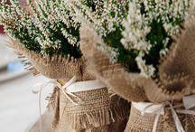 Dekoracja kwiatów doniczkowych