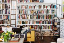 spaces // library / by Jessie Rodger