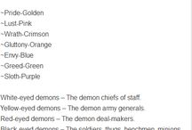 Demon story ideas