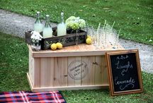 Country Chic / A little bit of country and little bit chic wedding style