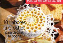 Adornos para Frascos a Crochet