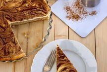 skořico jablkový dort