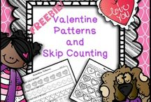 Valentine's Day <3 / Teaching resources and fun for elementary students on Valentine's Day!