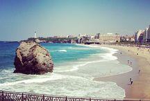 Born in Biarritz