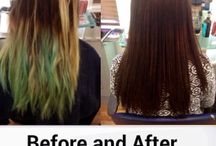 Colours By the team at Salon 108 xx / Before and afters
