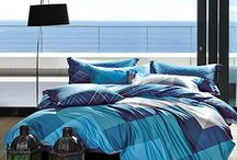Bedding ocean blue