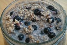 Oatmeal To Go Experiments / Something I saw online and trying my own.