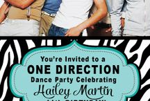 One Direction Ideas for Miss Makenna's Party  / by Casey Sullivan
