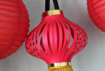 Chinese New Year Decor / Get the house and table out of its post-Christmas blahs and ring in the Chinese New Year with some colorful, seasonal decorating.