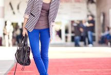 Coloured jeans / by Styling You