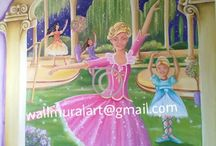 My murals / These are the murals I painted over the past few years.