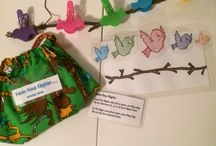 Material/Förskola / Material som jag gjort själv att använda i förskolan.